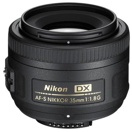 Nikon AF-S DX Nikkor 35mm f/1.8G Standard Prime Lens