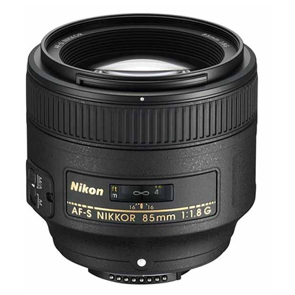 Nikon AF-S Nikkor 85mm f/1.8G Telephoto Prime Lens