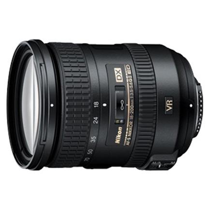 Nikon AF-S DX Nikkor 18-200mm f/3.5-5.6G ED VR II Zoom Lens