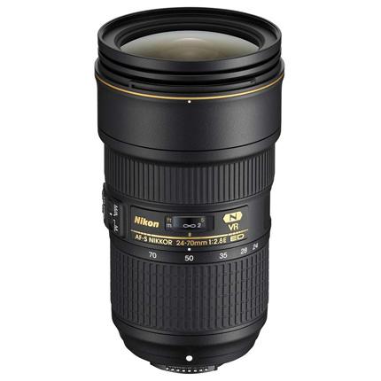Nikon AF-S Nikkor 24-70mm f/2.8E ED VR Standard Zoom Lens