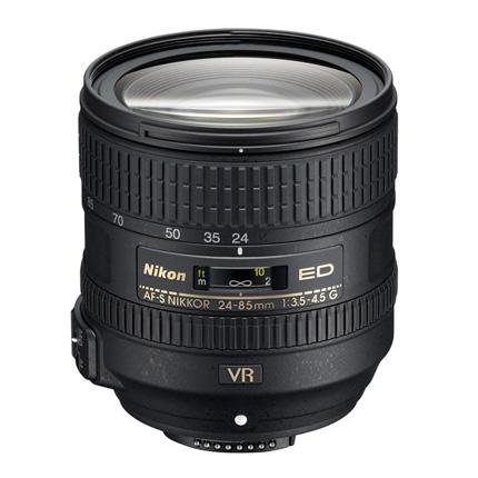 Nikon AF-S Nikkor 24-85mm f/3.5-4.5G ED VR Zoom Lens