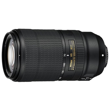 Nikon AF-P Nikkor 70-300mm f/4.5-5.6E ED VR Super Telephoto Lens