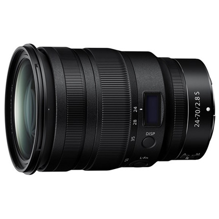 Nikon Nikkor Z 24-70mm f/2.8 S Zoom Lens For Z Mount