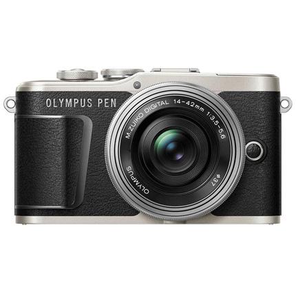 Olympus PEN E-PL9 With 14-42mm EZ Pancake Lens Kit Black