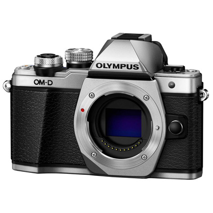 Olympus OM-D E-M10 Mark II Mirrorless Camera Body Silver