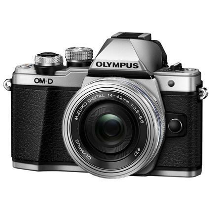 Olympus OM-D E-M10 Mark II Camera With 14-42mm EZ Lens Kit Silver