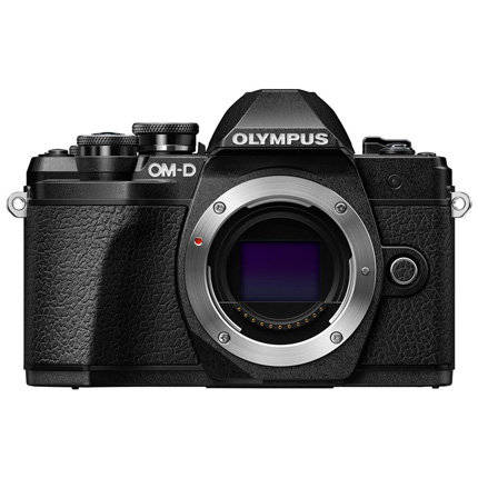 Olympus OM-D E-M10 Mark III Mirrorless Camera Body Black