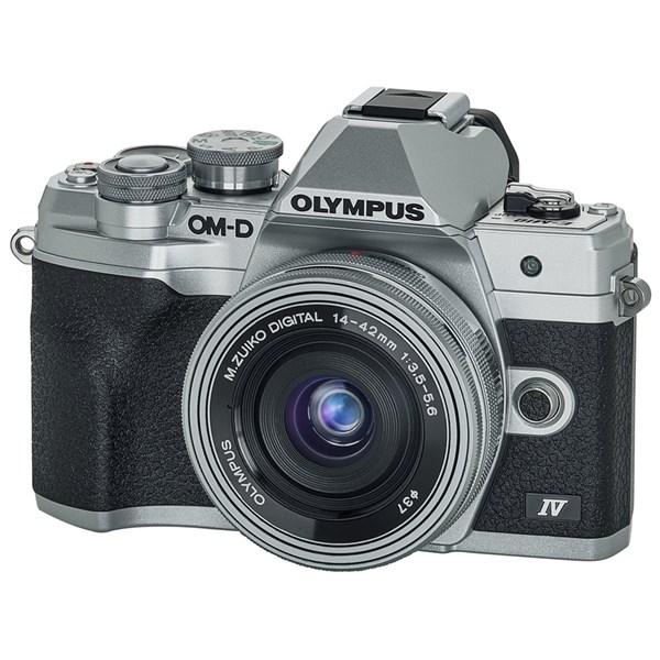 Olympus OM-D E-M10 IV 14-42 EZ kit Silver