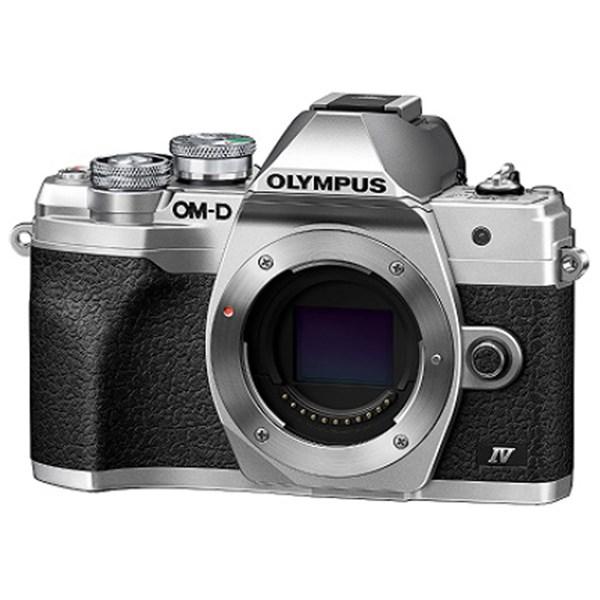 Olympus OM-D E-M10 IV Camera Silver Body