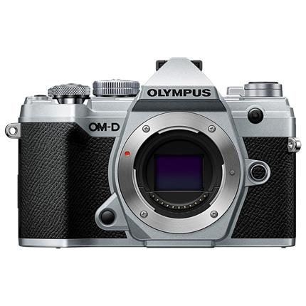 Olympus OM-D E-M5 Mark III Mirrorless Micro Four Thirds Camera Body - Silver