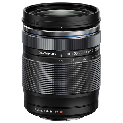 Olympus M.Zuiko Digital ED 14-150mm f/4-5.6 II Zoom Lens Black