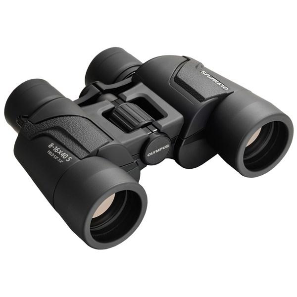 Olympus 8-16X40 S Binoculars BLK