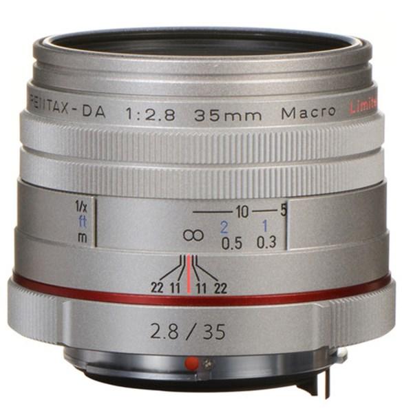 Pentax 35mm f/2.8 HD DA Macro Limited Silver