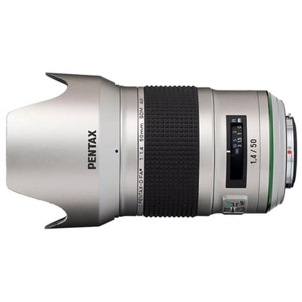 HD PENTAX-D FA* 50mm f/1.4 SDM AW Silver Edition Prime Lens