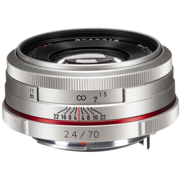 Pentax 70mm f/2.4 HD DA Limited Silver