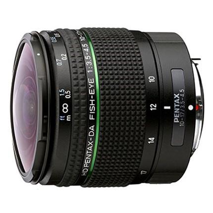Pentax 10-17mm HD f3.5-4.5 DA ED Fisheye lens