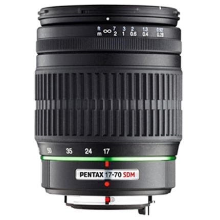 SMC Pentax-DA 17-70mm f/4 AL IF SDM Zoom Lens