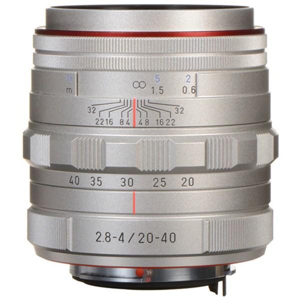 Pentax 20-40mm f/2.8-4.0 ED DA HD Limited Silver