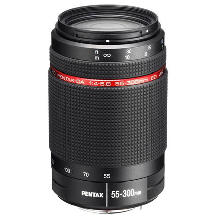 HD Pentax-DA 55-300mm f/4-5.8 ED WR Telephoto Zoom Lens