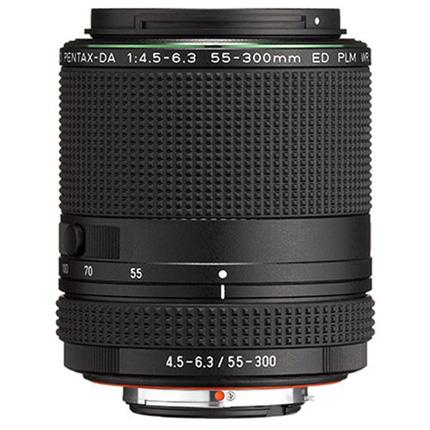 HD Pentax-DA 55-300mm f/4.5-6.3 ED PLM WR RE Telephoto Zoom Lens