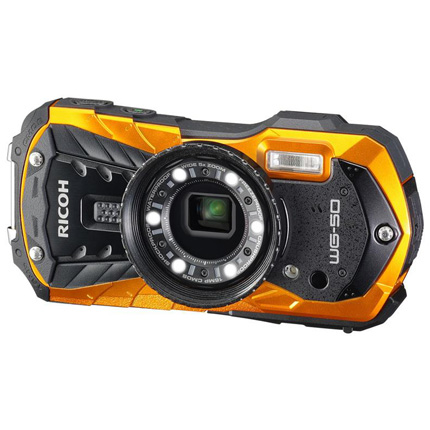Ricoh WG-50 Waterproof Camera Orange