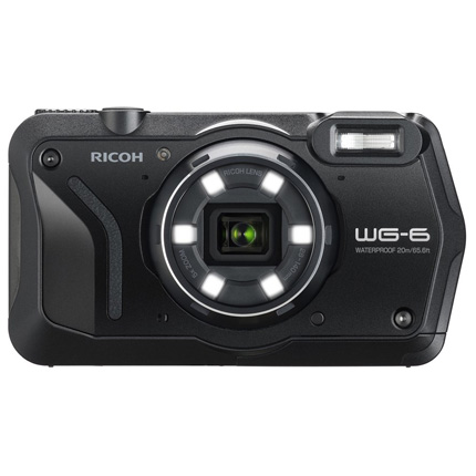Ricoh WG-6 Action Camera Black