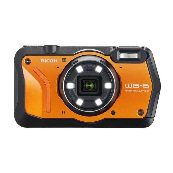 Ricoh WG-6 Action Camera Orange