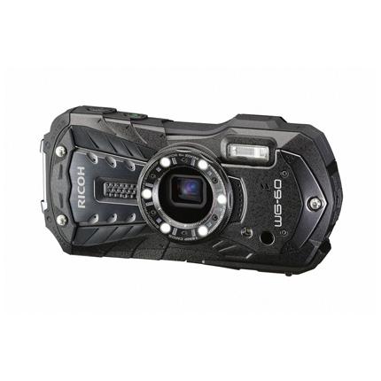 Ricoh WG-60  Black- waterproof & shockproof digital compact camera