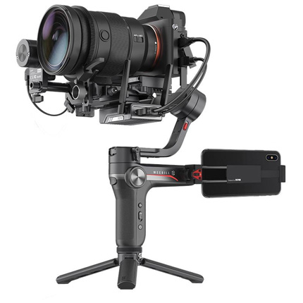 Zhiyun Weebill S Stabilised Gimbal + Follow Focus + Image Transmission Kit