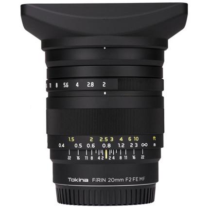 Tokina Firin 20mm f/2 FE Manual Focus Lens Sony E Mount
