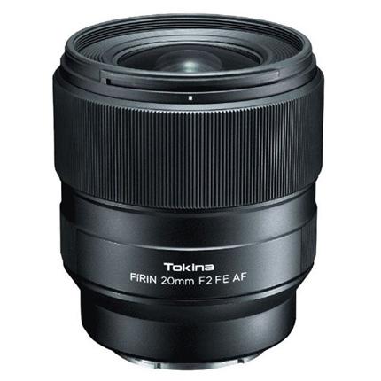 Tokina Firin 20mm F2 AF lens - E mount