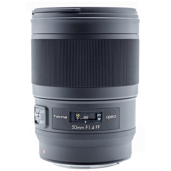 Tokina Opera 50mm F1.4 FF Lens -Canon/EF