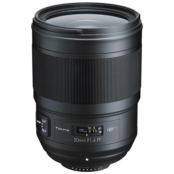 Tokina Opera 50mm F1.4 FF Lens -Nikon AF