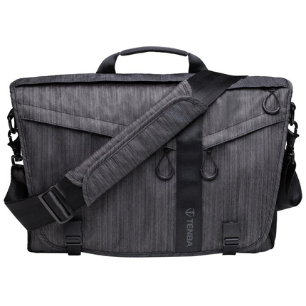 Tenba DNA 15 Slim Messenger Bag Graphite