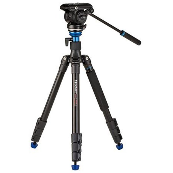 Benro A2883F Aluminium Video Kit with Leveling Column and S4PRO Head