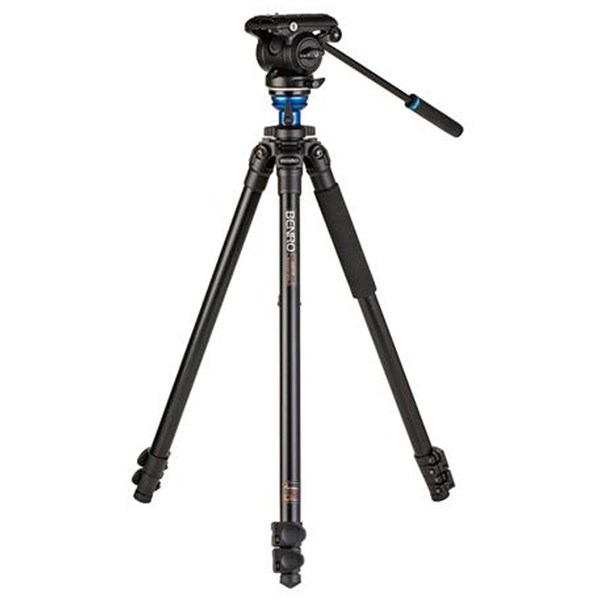 Benro A2573F Aluminium Video Kit, Flip Lock with S4PRO Video Head