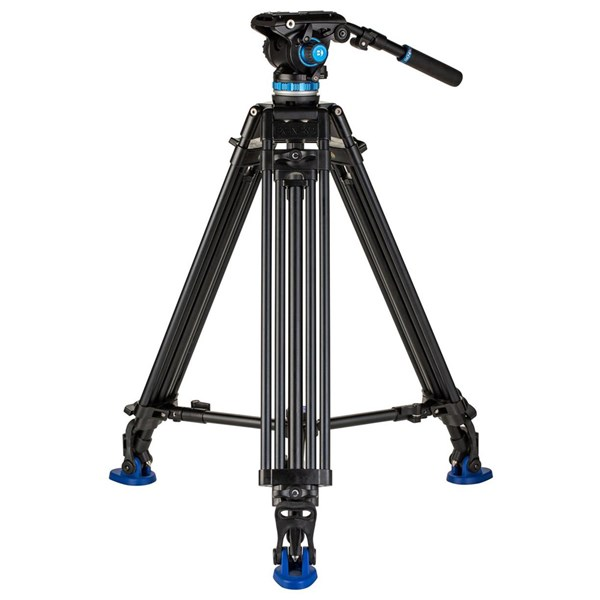 Benro A573T Dual-Tube Aluminium Video Tripod & S6PRO Head 75mm Ball