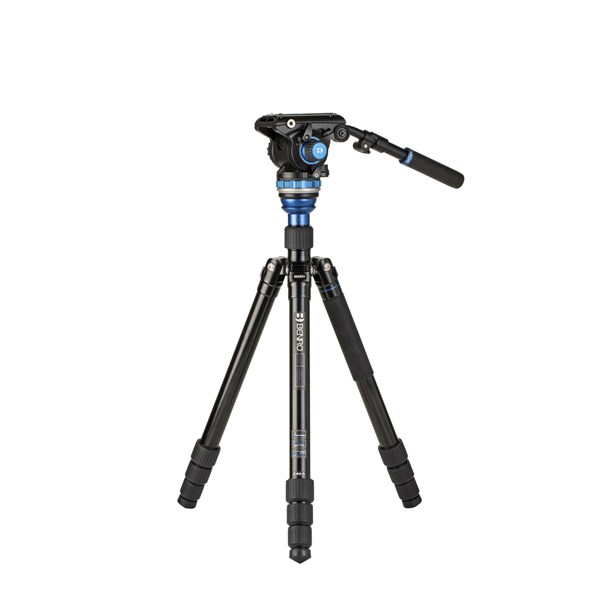 Benro A3883 Aluminium Video Kit with Levelling Column and S6PRO head