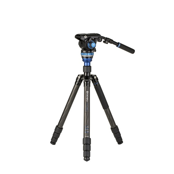 Benro C3883 CF Video Kit with Levelling Column and S6PRO head