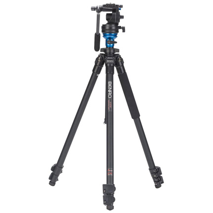 Benro Series 1 3-Section Aluminium Single Leg Video Tripod Kit