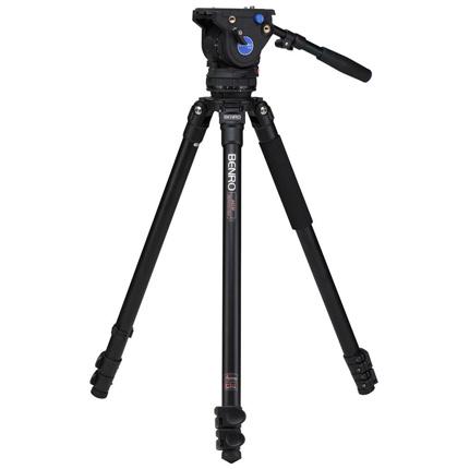 Benro Series 3 Aluminium Single Leg Video Tripod and BV6 Fluid Head Kit