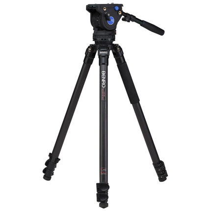 Benro Series 3 Carbon Fibre Single Leg Video Tripod and BV6 Fluid Head Kit