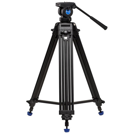 Benro Aluminium Twin Leg Video Tripod with K5 Fluid Head Kit