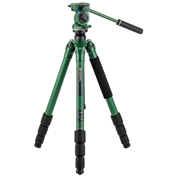 Benro Wild 2 Carbon Fibre Birding Tripod Kit with BWH4 2-Way Head