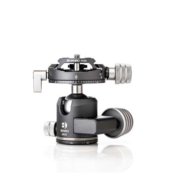 Benro GX25 Low-Profile Dual Panoramic Ball Head With PU56 Plate
