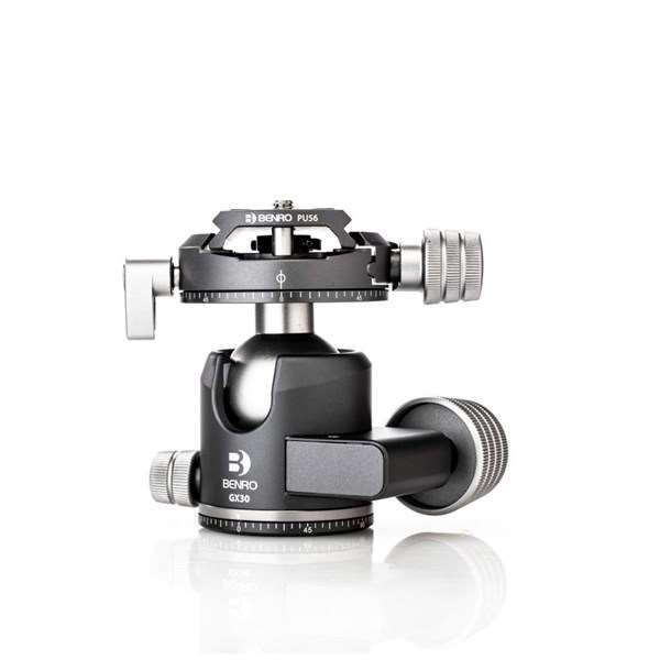Benro GX30 Low-Profile Dual Panoramic Ball Head With PU56 Plate