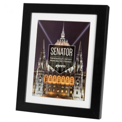 Kenro Senator Black 30x40cm Frame (w/ mat 12x10)