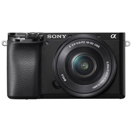 Sony Alpha a6100 Mirrorless Digital Camera Body & 16-50mm Lens Kit