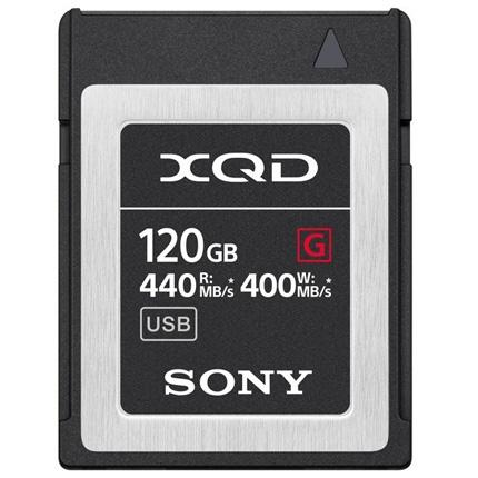 Sony 120GB XQD Card 440mb/s Read 400mb/s