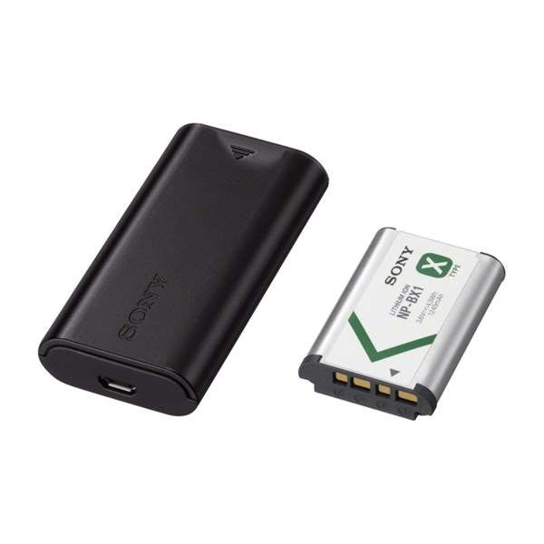 Sony ACCTRDCX USB battery kit includes NP-BX1 and BC-DCX